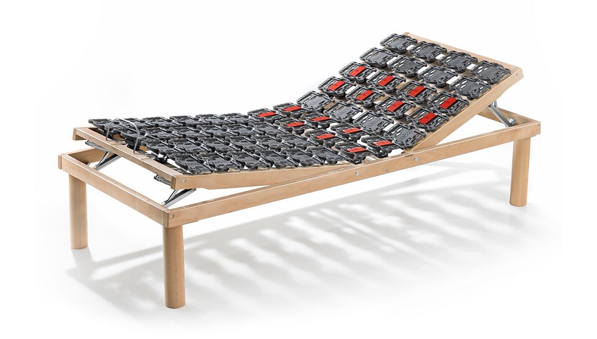 Rete medica nuvola alza testa e piedi manuale in legno linearete srl - Testa del letto ...