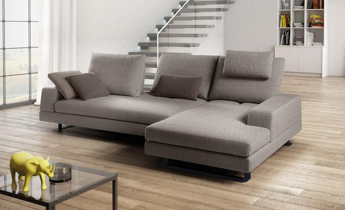 Meddy divano vendita online linearete 3 linearete srl - Divano due posti con chaise longue ...